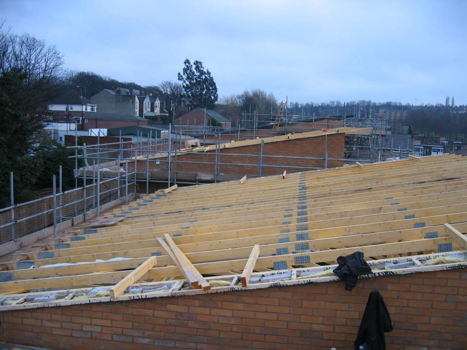 Traditional Roof Carpentry Services In Sheffield